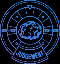 Brain symbolizing judgement